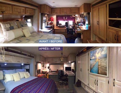 Avant-après chambre