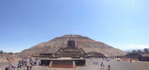 Pyramides du Soleil, Mexico