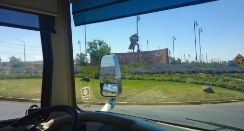Entrée de San Miguel de Allende