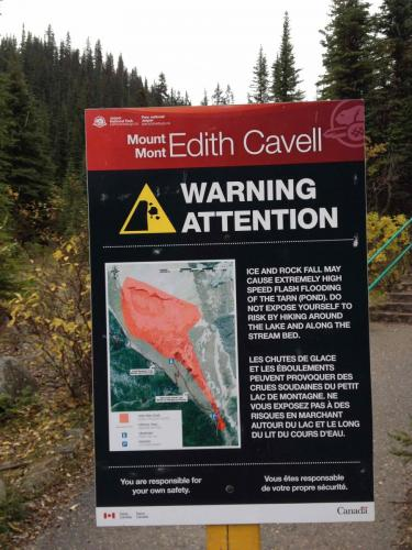 Le mont Edith Cavell