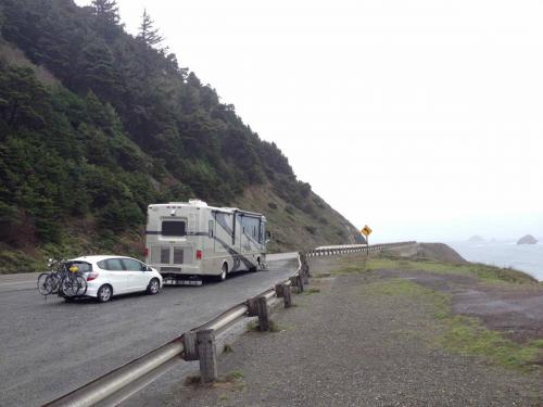 Route 101, entre les états de Washington et Californie