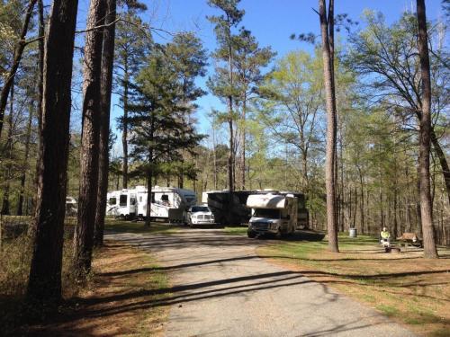 Natchez Trace Parkway, 3 États : AL, MS, TN